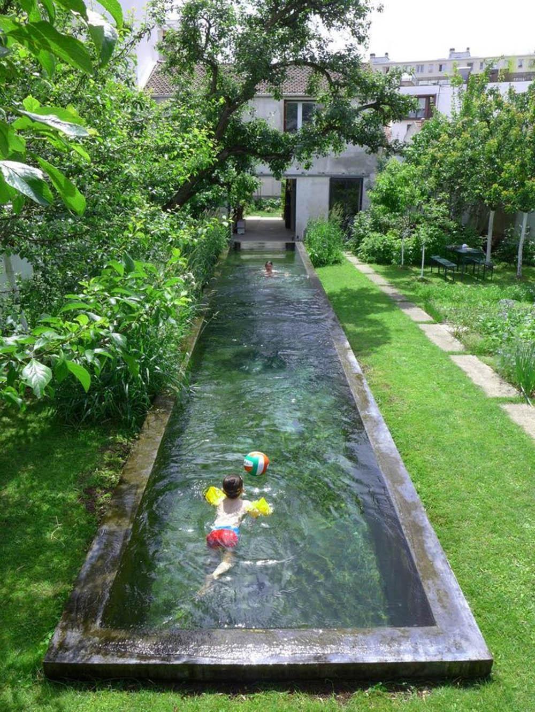 8+ Mẫu bể bơi trong sân vườn tuyệt đẹp để giải nhiệt mùa hè